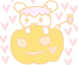かぼちゃ&イチゴショート♪.PNG